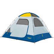 Eureka! Sunrise 6 Family Camping Dome Tent - Sleeps 6 - Free Shipping in the USA - Shown without Rain Fly.  From CSP Outdoors