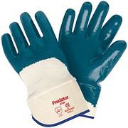 Memphis Coated Predator Thick Premium Nitrile Gloves - Palm Coated