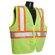 Radians Class 2 Hi-Viz Green Safety Vest - SV22