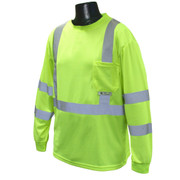 Radians ST21 Class 3 Long Sleeve Safety T-Shirt | ST21-3PGS