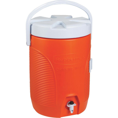 Gott 3-Gallon Water Cooler - Industrial quality - Available in Orange or Blue