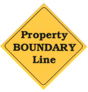Property Boundary Line Markers - Aluminum