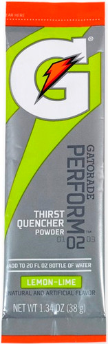 Gatorade 1.34 oz. Powder Sticks