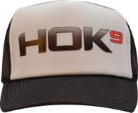 Kids Black & White Trucker Hat