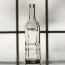 750 ml Clear Bordeaux Bottle