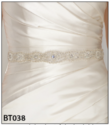 Bel Aire Bridal Belt BT038