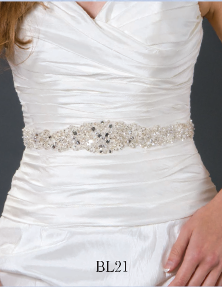 Giselle Bridal Belt BL21