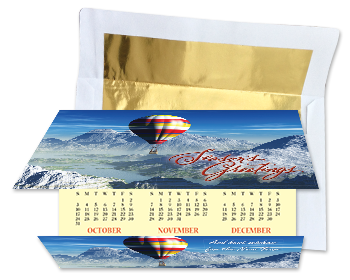 Holiday greeting cards for business calendar cards c fold holiday calendar card reheart Choice Image