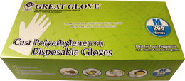 Great Glove - Cast Polyethylene (CPE) Gloves​ - Case