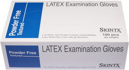 SkinTX - Powder-Free Latex Examination Gloves - Case