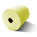 "3 1/8"" x 230' Canary Yellow Thermal Paper (50 Rolls)"