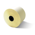 "2 1/4"" x 95' White/Canary 2-Ply Carbonless Paper (50 Rolls)"