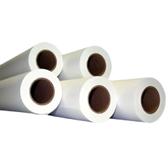 "24"" x 650' Recycled Xerographic Bond 1 Ply 20# 3"" ID Core 2 Rolls Per Case"