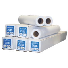"""Alliance Imaging Products 24154 22"""" x 150' Ink Jet Vellum 1 Ply 20# 2"""" ID Core 1 Roll Per Case"""