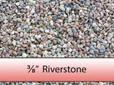 "3/8"" Colourful Riverstone"