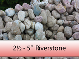 "2 1/2"" - 5"" Colourful Riverstone"