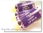 KEEP CALM AND CARRY LIP BALM