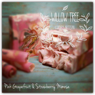 Pink Grapefruit & Strawberry Mimosa Luxury Artisan Soap