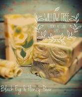 Black Fig & Honey Pear Luxury Artisan Soap