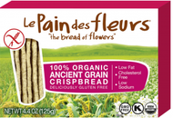 Le Pain des Fleurs - Case of 6 - Organic Ancient Grains Crispbread