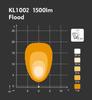 NORDIC KL1002 LED 1500 lumen work light