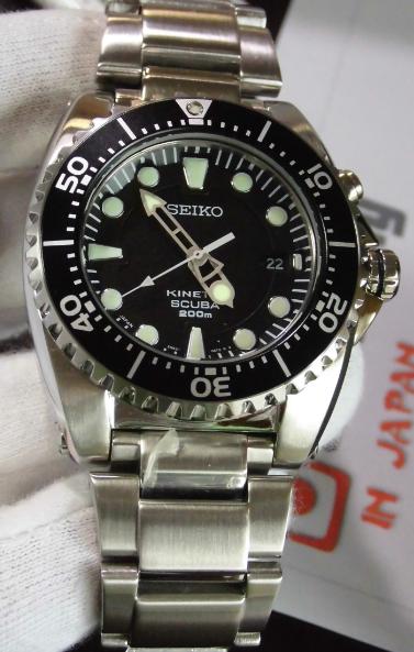 seiko diver scuba sbcz011 200m kinetic  new 100   ebay seiko kinetic 5m62 instructions seiko kinetic 5m62 instructions