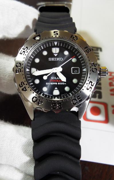 Seiko Prospex Scuba Sbdn005 Diver Solar Shopping In