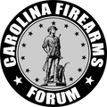 Carolina Firearms Forum Round  Decal Branded