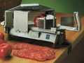 Nemco's new Easy Tomato Slicer can cleanly cut mounds of uniformly sliced tomatoes.  It's NSF listed and it features a unique new design for fast, trouble-free operation and easy clean up.