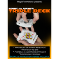 Triple Deck (Blue) by Ferry De Riemer - Trick