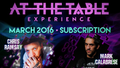 At The Table March 2016 Subscription video DOWNLOAD