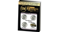 Autho 4 Eisenhower Dollar (D0179) (Gimmicks and Online Instructions) by Tango - Trick