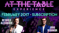 At The Table February 2017 Subscription video DOWNLOAD