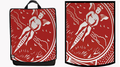 CARD Backpack (Red) by Paul Romhany and BOLDFACE - Trick