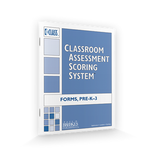 Classroom Assessment Scoring System Score Sheet graphic