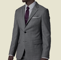 Solid Gray Suit