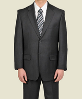 Solid Charcoal color Suit