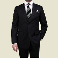 Solid Black Suit - Special