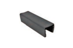 """GR71414G10 RUBBER FOR HANDRAIL 30MM DIA ROUND & 25X21MM RECTANGULAR PIPE 14X14MMX5.8M (SAME AS PIPE LENGTH); SUITABLE FOR 3/8"""" & 10MM GLASS"""