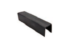 """GR71414G12 RUBBER FOR HANDRAIL 30MM DIA ROUND & 25X21MM RECTANGULAR PIPE 14X14MMX5.8M; SUITABLE FOR 1/2"""" & 12MM GLASS"""