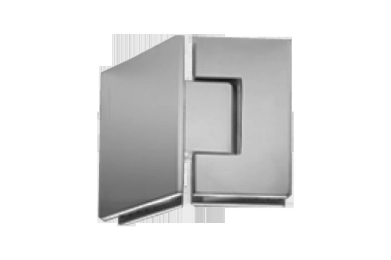 FRAMELESS SHOWER DOOR - SHOWER DOOR HINGES - 135 Degree Glass-to ...