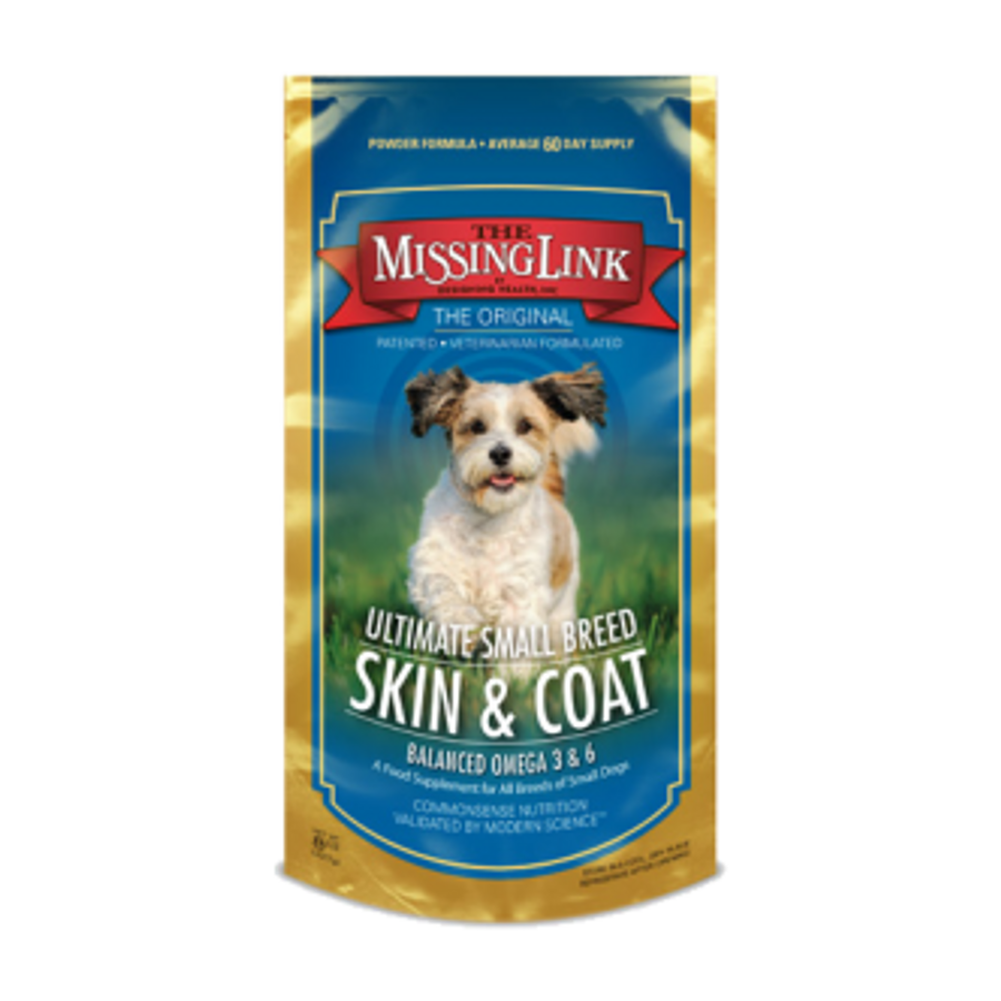 The Missing Link Ultimate Small Breed Skin & Coat Formula for Small Dogs - 8 oz. Pouch