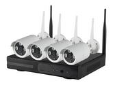 4 Channel Wireless NVR Kits w/ 1.3 Megapixel Cameras