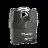 Master Lock No.6327 - 2-5/8in (67mm) Wide ProSeries Shrouded Laminated Steel Rekeyable Pin Tumbler Padlock