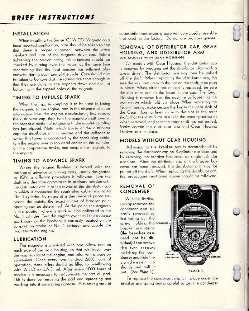 F12 Magneto Wiring Schematic Electrical Diagrams Hunt Diagram E198635