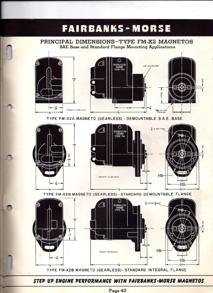 fm85d apln info 1952 skinny p43?t=1479802053 fairbanks morse magneto replacement information 1952 fairbanks morse magneto wiring diagram at creativeand.co