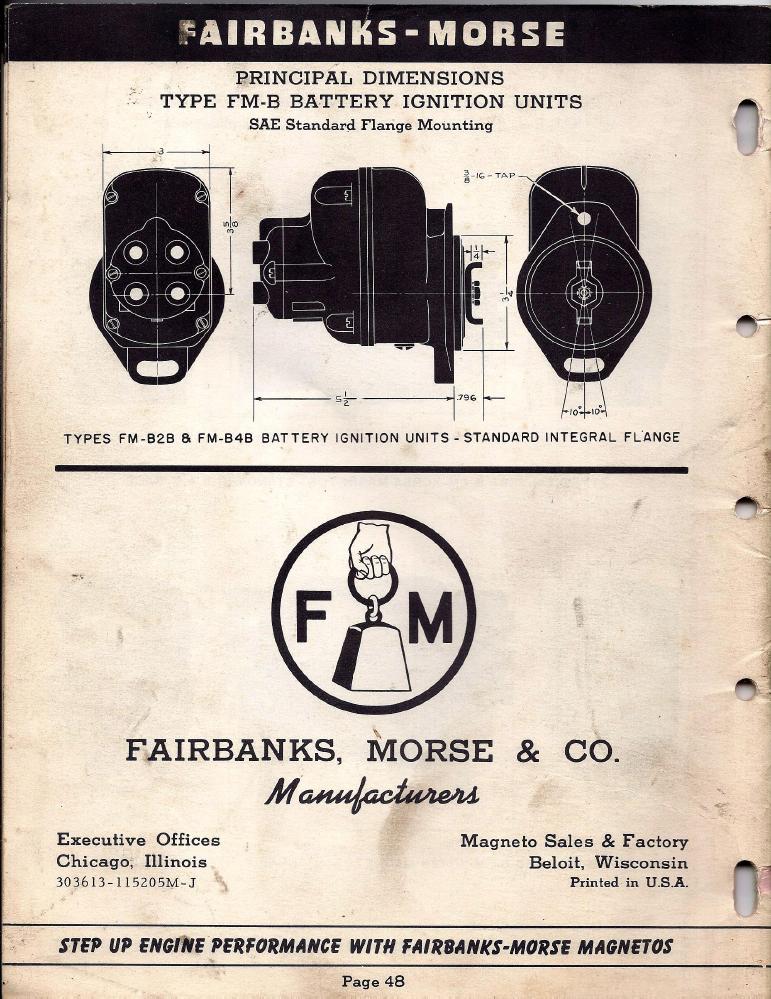 fm85d apln info 1952 skinny p48?t=1479802198 fairbanks morse magneto replacement information 1952 fairbanks morse magneto wiring diagram at creativeand.co