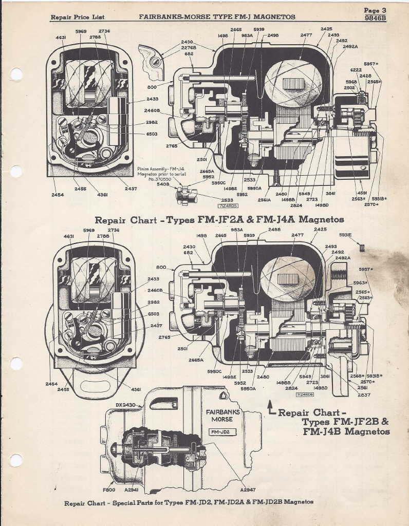 fmj pl 3 skinny magneto rx fairbanks morse fmj series parts list 1947 fairbanks morse magneto wiring diagram at gsmportal.co