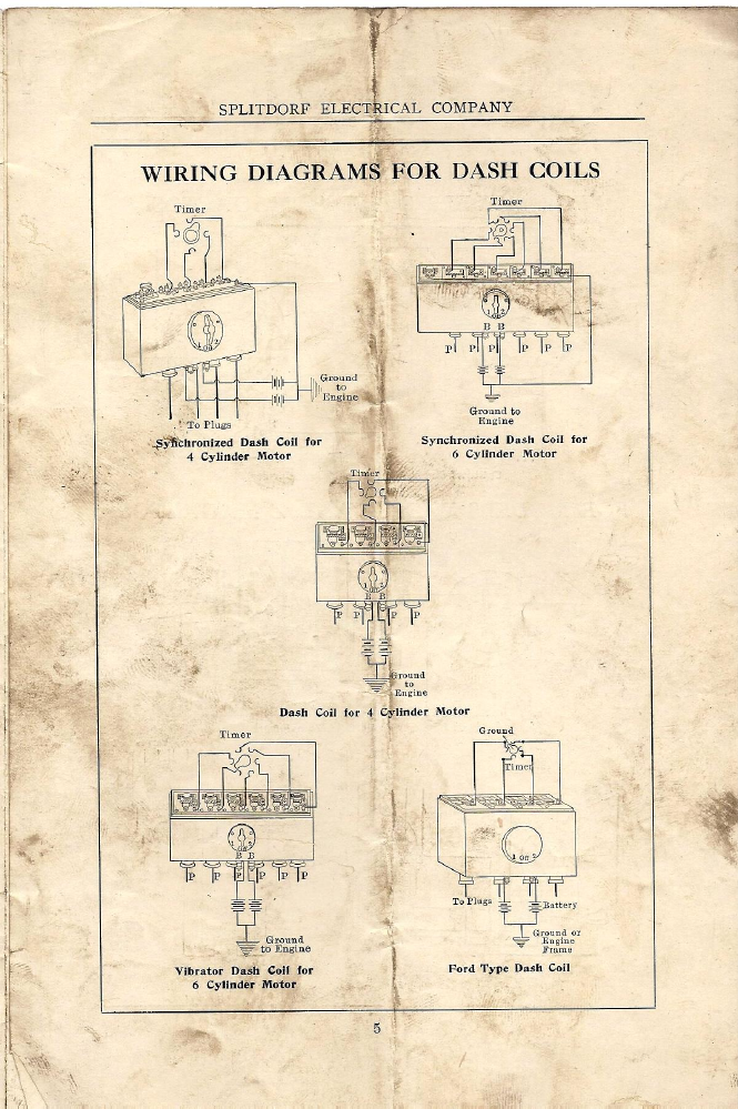 magneto rx splitdorf splitdorf wiring diagrams 1914 silver rh oldcroak com ford falcon xh wiring diagram ford xh radio wiring diagram