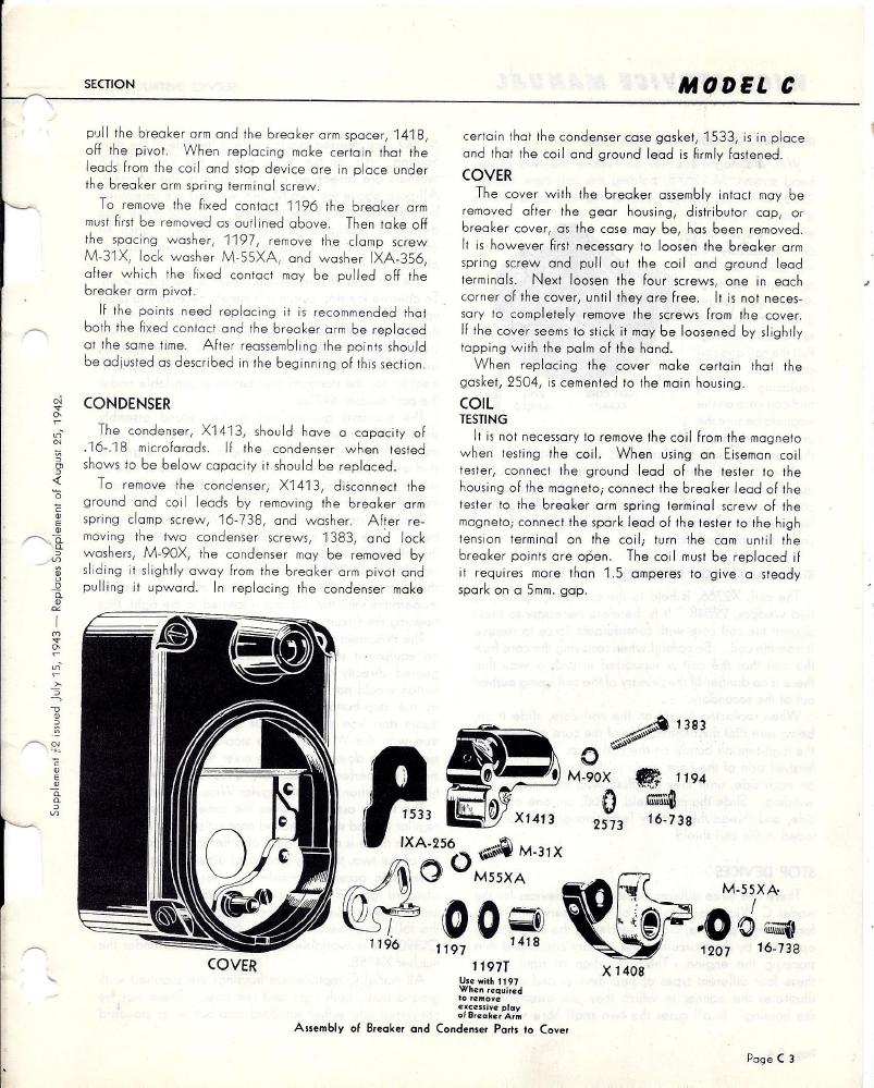 wico c magneto service manual rh oldcroak com Wico Vending Wico Radio
